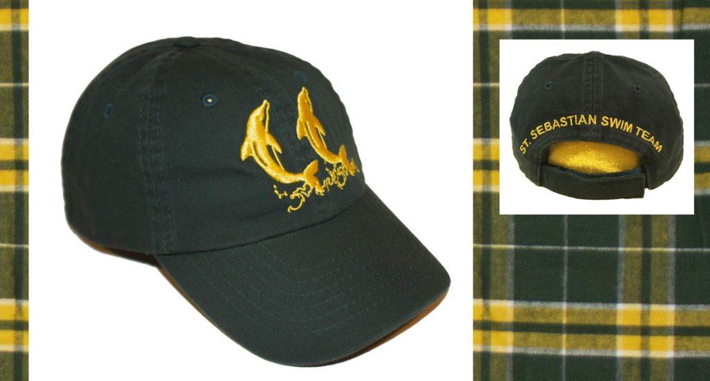 St Sebastian's Swim Team baseball cap